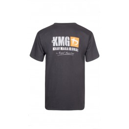 KMG T-shirt Antraciet